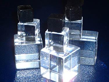 Cubes, Black & White